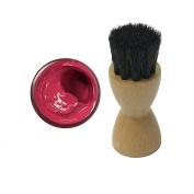 FAMACO PINK AZALEE DYE CREAM Polish 15ml & Luxury Application Brush