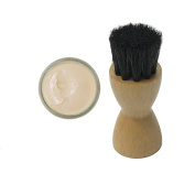 FAMACO NEUTRAL BEIGE CLAIR DYE CREAM Polish 15ml & Luxury Application Brush