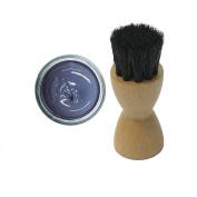 FAMACO BLUE LAVANDER LAVANDE DYE CREAM Polish 15ml & Luxury Application Brush