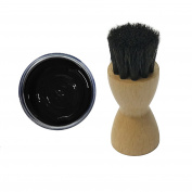 FAMACO BLACK DYE CREAM Polish 15ml & Luxury Application Brush