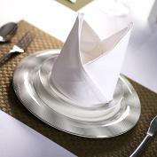 Pure cotton white wheat high-grade cotton hotel restaurant 45*45cm550