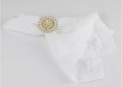 Hotel napkin cloth glass cloth cloth western restaurant banquet hair Zhehua cloth 45*45cm50