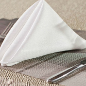 Hotel restaurant banquet linen napkin napkin colour white hair Zhehua not 45*45cm50