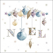 Ambiente Paper Napkins Lunch / Party / ca. 33x33cm No'l - Christmas - Ideal As A Gift And Decoration