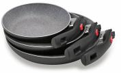 Ballarini Non-Stick Frying Pan, Aluminium, black, 3 Units, 0 cm