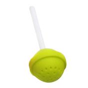 Fixuk Silicone Lollipop Tea Infuser Loose Leaf Strainer Bag Herbal Spice Filter Diffuser
