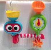 Baby Bath Shower Toys, Bathtub Sprinker Toy - NO Batteries No Power Need Water Tap Sprinker Water-spraying Toy