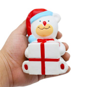 NEEDOON Christmas Ball Snowman Squeezing Stress Balls For Kids & Adults Fun Toys for Stress Relief and Time Killing,B