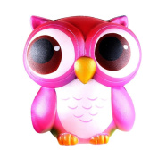 ZycShang 15cm Lovely Pink Owl Cream Scented Squishy Slow Rising Squeeze Toys Collection