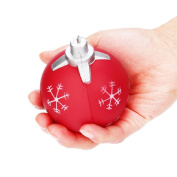 NEEDOON Christmas Ball Snowman Squeezing Stress Balls For Kids & Adults Fun Toys for Stress Relief and Time Killing