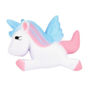 ZycShang Kawaii Unicorn Squishy Slow Rising Cartoon Doll Cream Scented Decompression Toys