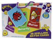 Educational For Kids - Cbeebies 3D Spelling Match Cards Puzzle Age 18mths+