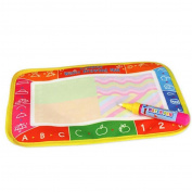 SamMoSon New Water Drawing Painting Writing Mat Board with Magic Pen Doodle Toy Gift 25 x 16.5cm