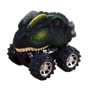 ZycShang New Children's Day Gift Toy Dinosaur Model Mini Toy Car Back Of The Car Gift