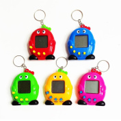 Virtual Pets Tamagotchi with Keyring,Wyurhjh® 90S Cyber Electronic 49 Pets In One Electronic Game Toy Xmas Gift for Kid Child Girls Boys