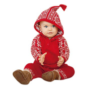 KEERADS Baby Clothes, 1PC Christmas Baby Hooded Printed Romper Jumpsuit Outfits