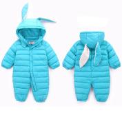 Engerla Baby Snowsuit Infant Hooded Romper Winter Jumpsuit Winter Outfit
