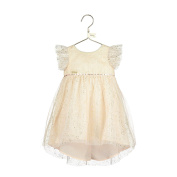 Disney Boutique Baby Collection Tinker Bell Sparkle Disney Party Dress With Dipped Hem