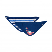 Jacky Baby Boys' Neckerchief Blue blue-white One Size