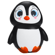 Eshylala 1 Pcs Kawaii Jumbo Animal Squishy Penguin Squishy Slow Rising Sweet Scented Vent Charms Kid Toy Hand Toy Stress Relief Toy