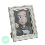 Photo Frame 13X18 White Vintage