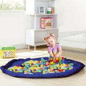 Taylor & Brown® Toy Storage Bag, Large Tidy Bag Kids Rug Portable Kids Toys Organiser Storage Drawstring Bag Play Mat 150cm