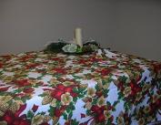 Christmas Tablecloth 140 x 240 + 6 Napkins