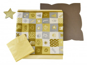 wosde wnat26 C Equipment, Fabric, Yellow, 240 x 160 x 1 cm, 26 Units