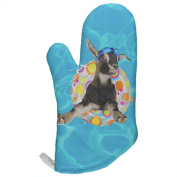 Whatever Floats Your Goat All Over Oven Mitt Multi Standard One Size