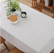 Tabgw Rectangular Tablecloth Dining Room cotton line cover cloth Garden Hotel Cafe Restaurant Home accessories Tree 120X120cm