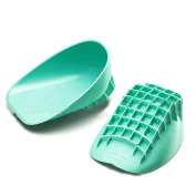 Pedimend™ Heavy Duty Gel Comfort Heel Cups for Posterior Tibial Tendonitis & Sports | Achilles pain relief | Plantar Fasciitis Double Cushion Insoles | Arch Support | Heel Spur Care Foot Pads