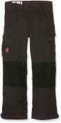 Fjallraven Kids' Vidda Padded Trousers Dark Grey / Black 6