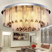 Simple Ceiling lamp Luxury LED Crystal Ceiling mounted Light Bedroom LED Light Diameter 60CM E14 Bulb Included Best Value