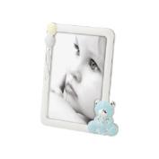 Mascagni Metal Photo Frame 10 x 15 Gloss Finish Baby Bear Sky Blue