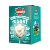 Easiyo Yoghurt Greek n Coconut Yoghurt Sachets, 240g x 4 - Each Makes 1kg