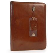 Ashwood Leather A4 Zip Folder