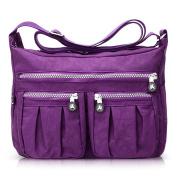 ABLE Waterproof Shoulder Bag Casual Handbag Messenger bag Crossbody Bags Multi-functional pocket design