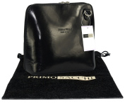 Primo Sacchi® Italian Leather Hand Made Small/Micro Cross Body Bag or Shoulder Bag Handbag. Includes Branded a Protective Storage Bag.