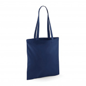 Westford Mill Cotton Shoulder Shopper Tote Bag