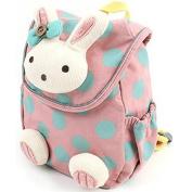 Baby Backpack, Rcool Cute Rabbit Anti-lost Baby Backpack Rucksack Toddler Kids Girl Boy School Bag with Walking Reins Leash for Kindergarten