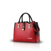 NICOLE & DORIS 2018 new black and white faishon style handbag casual shoulder bag cross-body work bag purse for ladies