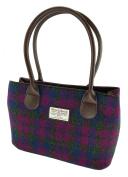 Harris Tweed Ladies Authentic Classic Handbags LB1003