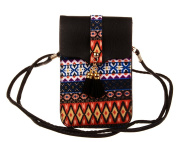 KISS GOLD(TM) Women's Folk Style Mini Shoulder Bag Cellphone Pouch
