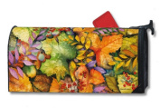 Colours of Autumn Magnetic Mailbox Cover Fall Mail Wrap