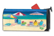 MailWraps Love the Beach Mailbox Cover 01462