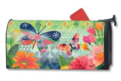 MailWraps Butterflies in Flight Mailbox Cover 01488