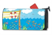 MailWraps Big Boats Mailbox Cover 01458