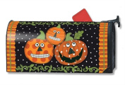 MailWraps Pumpkin Faces MailWrap Mailbox Cover 01429