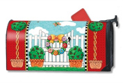 MailWraps Topiary Gate Mailbox Cover 01474