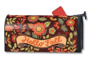 MailWraps Hello Fall MailWrap Mailbox Cover 01413